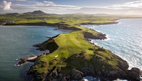 Golf ve Velké Británii.