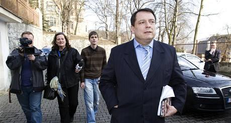 Jiří Paroubek odmítl případ příjímání