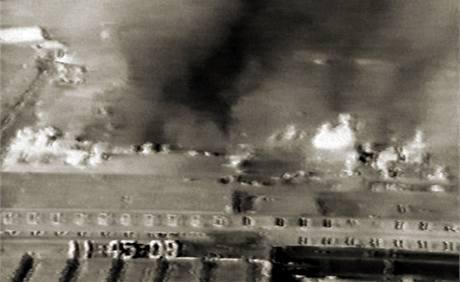 Z jedenácti budov věznice 5 zcela shořelo.