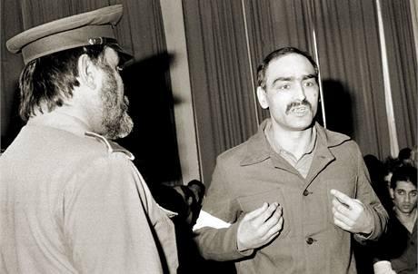 Vzpouru vězňů vedl Tibor Polgári, který se prohlásil i za ředitele věznice.