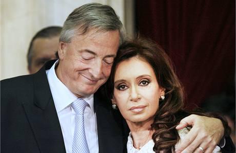 Nestor a Cristina Kirchnerovi.