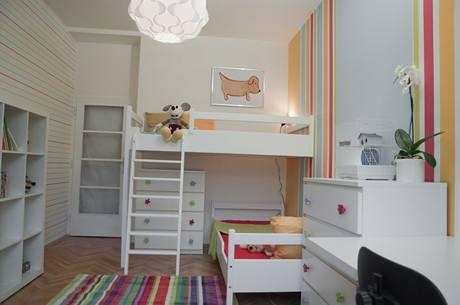 Dětský pokoj po proměně