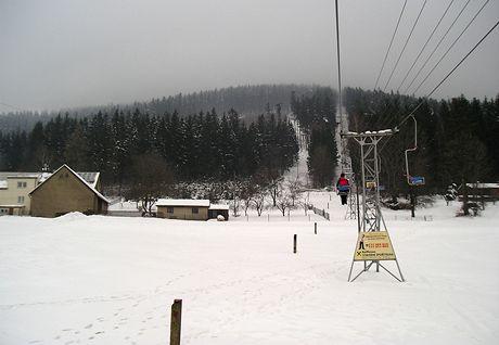 Těšínské Beskydy. Lanovka na Javorový