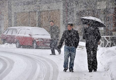 Sníh zaskočil i Řecko.