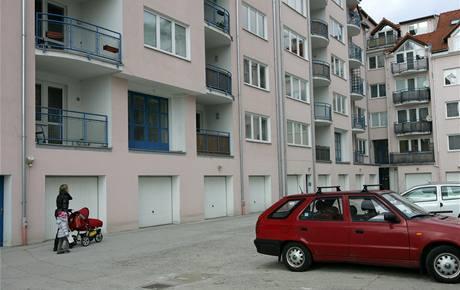 Bytový dům v Olomouci v Rooseveltově ulici