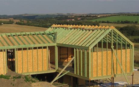 Dřevěný dům na muších nožkách