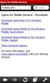 Opera Mobile 10 pro Windows Mobile
