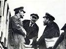 Trockij, Lenin a Kameněv v roce 1919