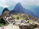 Incká pevnost Machu Picchu na jihovýchodě Peru