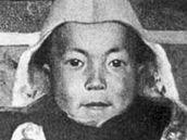 Mladý Lhamo Döndrub už jako 14. tibetský Dalailama.