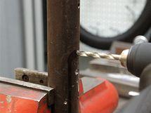 Vrtáky HSS-G mají samonaváděcí hrot, lépe se strefíte i při vrtání do oblin