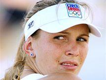 Nicole Vaidišová reprezentovala Česko na olympijských hrách v Pekingu. (8. srpna 2008)