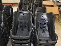 Výroba dětské autosedačky