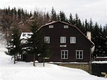 Těšínské Beskydy. Turistická chata na Kotaři