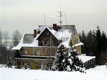 Těšínské Beskydy. Horská chata Kozinec