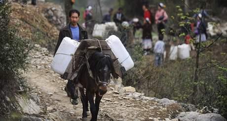 Jihozápad Číny postihlo katastrofální sucho (březen 2010)