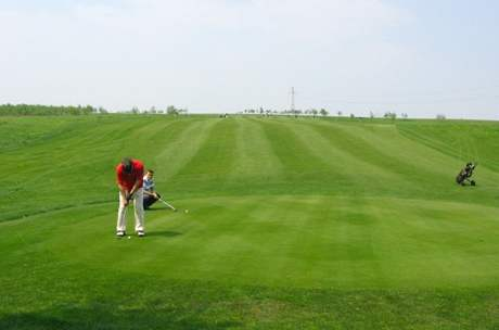 Hřiště Royal Kraow Golf and Country Clubu.