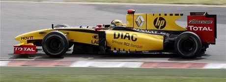 Robert Kubica s Renaultem vyhrál úvodní trénink Velké ceny Austrálie.