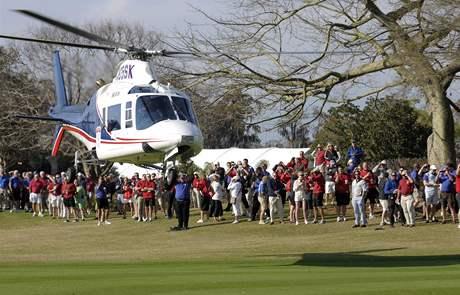Tavistock Cup, Lake Nona, modrý tým, vrtulník
