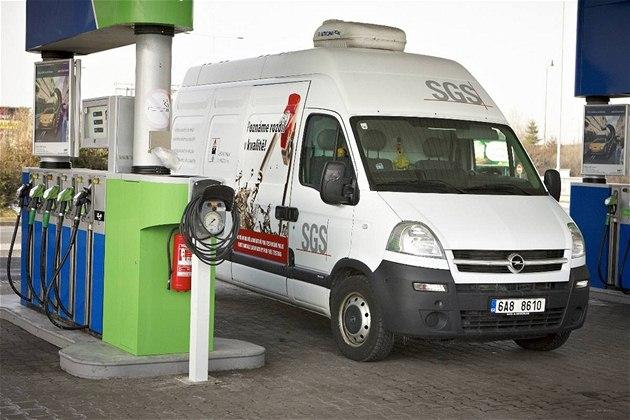 Mobilní laborato� pro analýzu kvality paliv