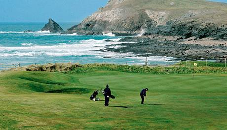 Golf v Cornwallu.