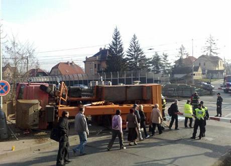Nehoda omezila provoz na trati