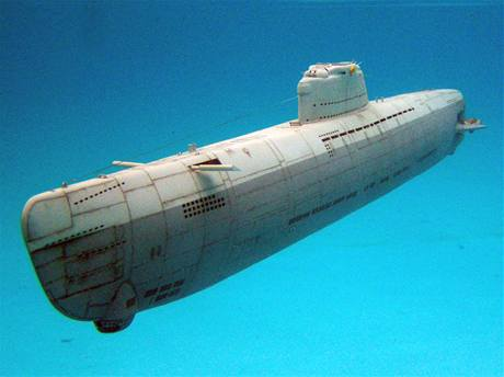 Plně funkční modely německých válečných ponorek vytváří šestadvacetiletý modelář Ota Gerža ze Vsetína.