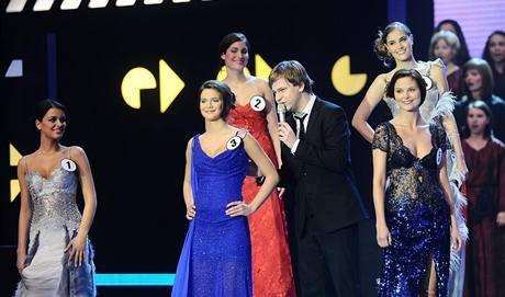 Martin Chodúr zazpíval na finále České Miss 2010