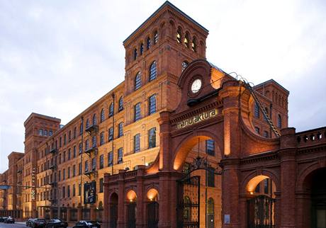 Andel's Hotel, (Lodž, Polsko) - finalista v kategorii hotely a turistické komplexy