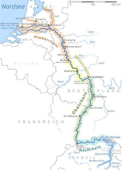 Evropský veletok Rýn