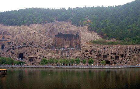 Luoyang, jeskyně Longmen