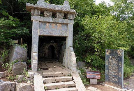 Meditační jeskyně mistra Damo