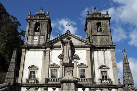 Severní Portugalsko. Santuário de Nossa Senhora da Peneda