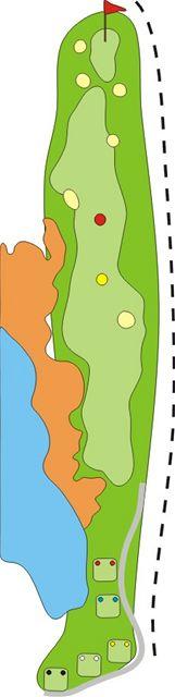 Golf Zbraslav - jamka číslo 10