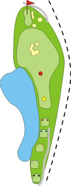 Golf Zbraslav - jamka číslo 12