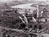 Výbuch atomové bomby v Hirošimě
