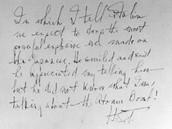 Poznámka prezidenta Trumana