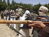 Afghánští talibanci. Ilustrační foto