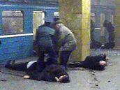 Oběti výbuchu v moskevském metru. (29. března 2010)