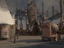 Ukázka z internetových stránek zábavního parku Kouzelný svět Harryho Pottera