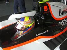Pastor Maldonado ovládl testy GP2 ve španělském Le Castelletu.