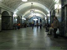metro v Moskve - Lubjanka