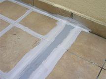 Nouzová oprava terasy