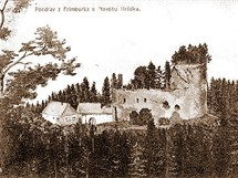 Frymburk býval oblíbeným výletním místem. Svědčí o tom pohlednice a snímky z počátku minulého století.