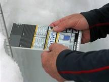 Zjišťování aktuální charakteristiky sněhové pokrývky