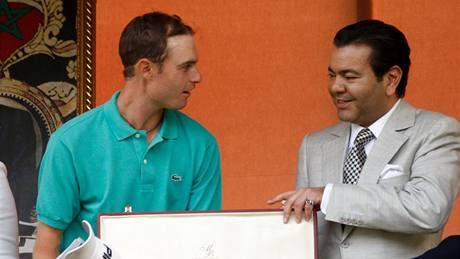 Rhys Davies, vítěz Hassan II Trophy 2010.