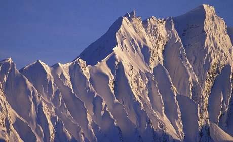 Strmé svahy na Aljašce