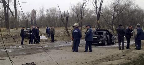 V dagestánském Kizljar vybuchly dvě bomby (31. března 2010)