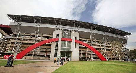 Severní brána stadionu Ellis Park v jihoafrickém Johanesburgu.