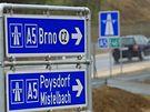 Rakouský Wolkersdorf - dálnice z Vídně do Brna se opět dostala do slepé uličky, nyní na rakouské straně